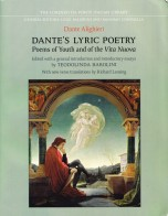 DANTE'S LYRIC POETRY Poems of Youth and of the Vita Nuova